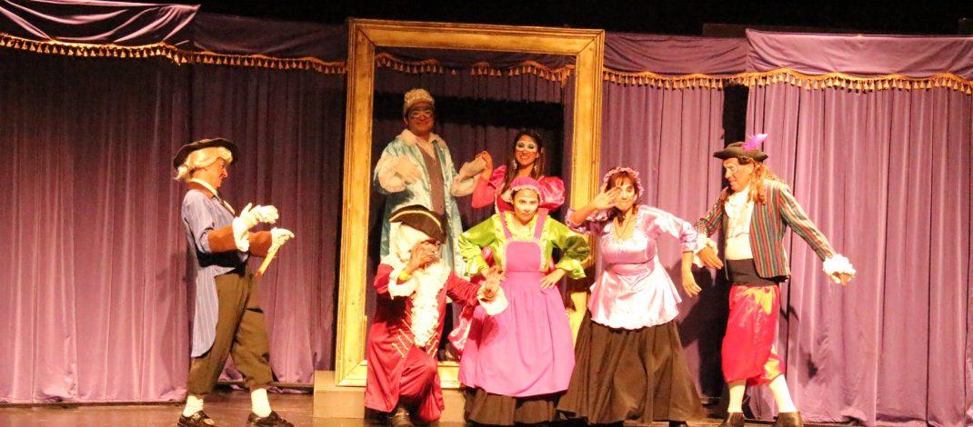 Teatro en Nancagua.